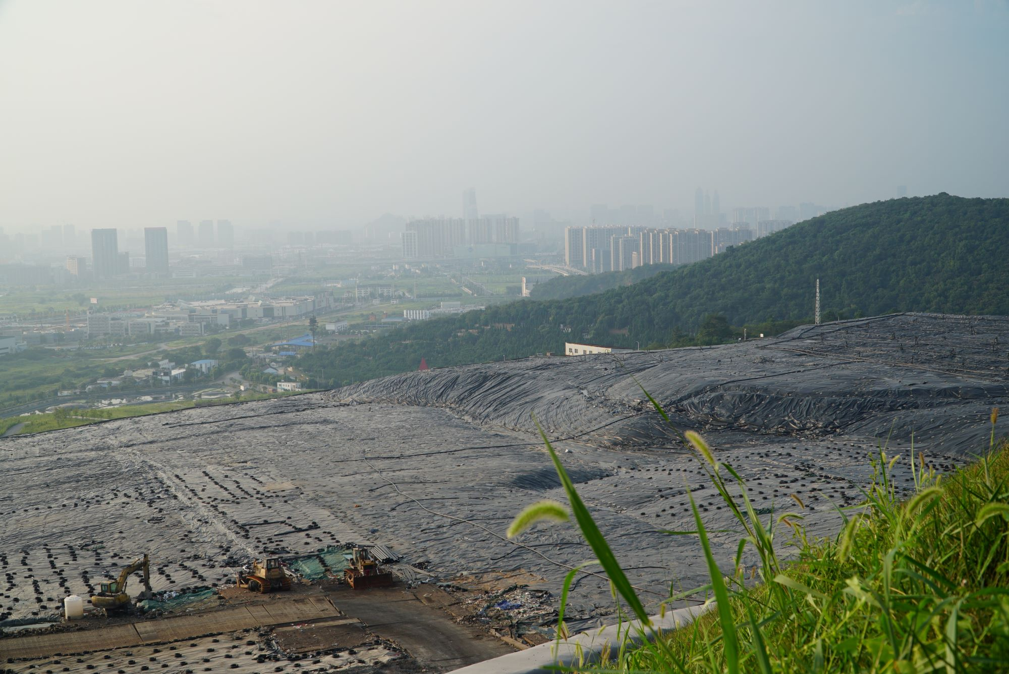 Landfill Facility in Suzhou, one of the Project Demonstration Municipalities